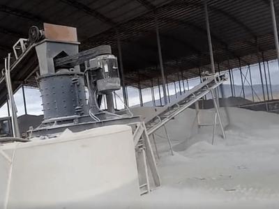 恒扬实业数控制砂机制砂生产线湖北现场真实案例