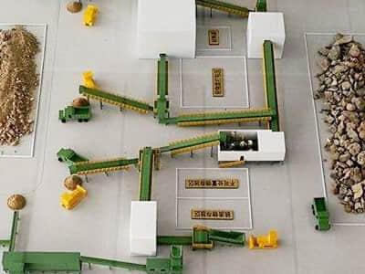 建筑垃圾处理工艺流程方案